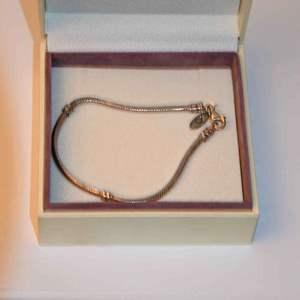 Lot # 147 PANDORA sterling silver bracelet