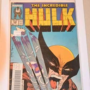 Lot # 160 THE INCREDIBLE HULK #340 Marvel comics