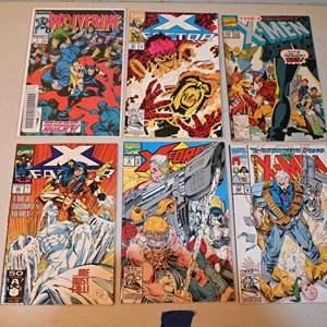 Lot # 162 MARVEL Comics lot: X-MEN, X-FORCE, X-FACTOR, WOLVERINE
