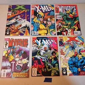 Lot # 163 MARVEL Comics lot: X-MEN, WOLVERINE, X-FACTOR