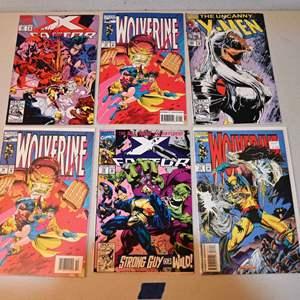 Lot # 164 MARVEL Comics lot: Wolverine, X-MEN, X-FACTOR