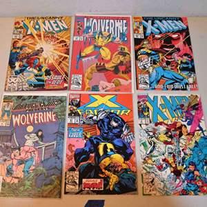 Lot # 165 MARVEL COMICS LOT: X-MEN, X-FACTOR, WOLVERINE