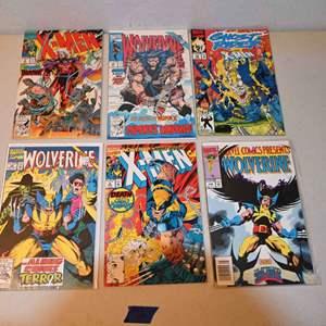 Lot # 166 Justice League, WOLVERINE & X-MEN