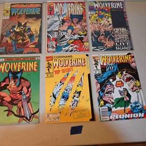 Lot # 172 WOLVERINE comics lot