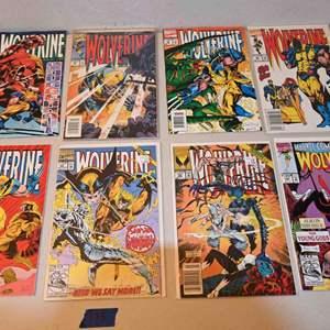 Lot # 173 WOLVERINE Comics lot