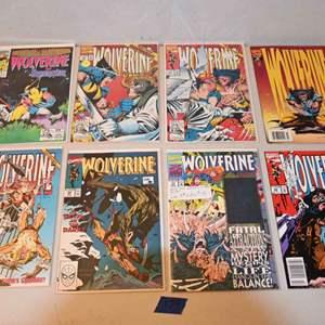 Lot # 174 WOLVERINE comics lot