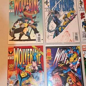 Lot # 175 WOLVERINE & JUSTICE LEAGUE comics lot