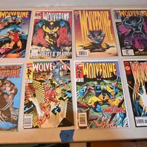 Lot # 176 WOLVERINE comics lot