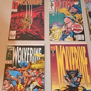 Lot # 177 WOLVERINE & JUSTICE LEAGUE comics lot