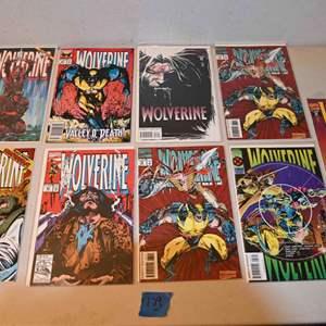 Lot # 179 WOLVERINE comics lot