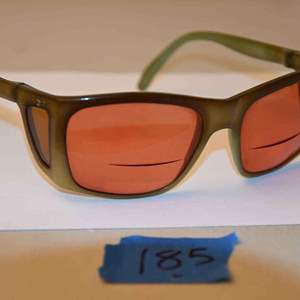 Lot # 185 Vintage 1950s Made in France prescription sunglasses with crown logo
