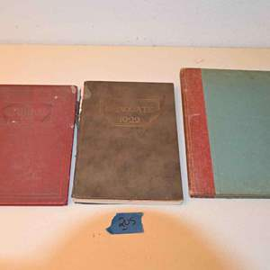 Lot # 205 Treasury of Stephen Foster & two yearbooks from 1920s