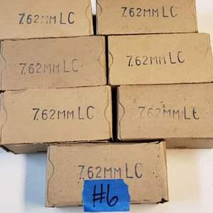 Lot # 6 Lot of 7.62 Munitions