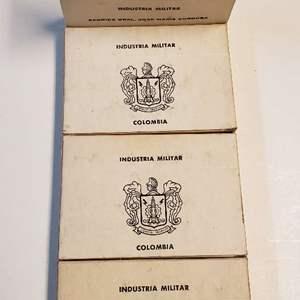 Lot # 8 Lot of Columbian 30cal Munitions