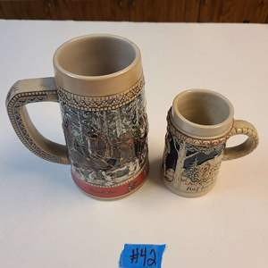 Lot # 42 Lot Of 2 Steins