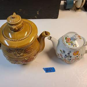 Lot # 40 Lot of 2 Tea Kettles