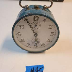 Lot # 45 Vintage Small Table Clock