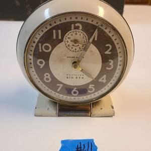 Lot # 46 Vintage Small Big Ben Table Clock