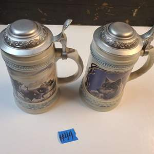 Lot # 49 Lot Of Gurs Beer Steins