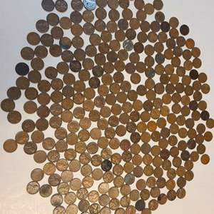 Lot # 70 Lot of Wheat Pennies & Pennies