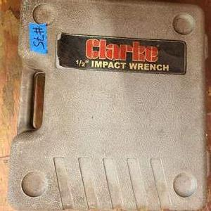 Lot # 75 Clarke Impact Wrench (sockets included)