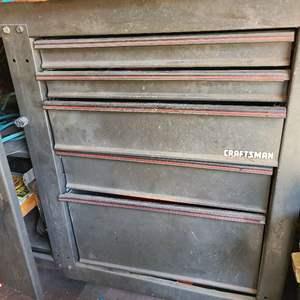 Lot # 86 LARGE Craftsman WorkStation - See Description