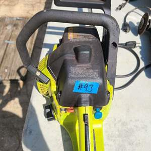 Lot # 93 Poulan Wired Chainsaw
