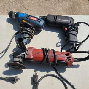 Lot # 94 Lot of Various Power Tools