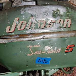 Lot # 96 Johnson Sea-Horse 5 Trolling Motor