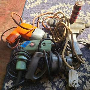 Lot # 98 Lot of Various Power Tools