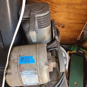 Lot # 100 Older Craftsman Air Compressor