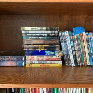 Lot # 102 Lot Of Various Movies (non Blu-Ray)