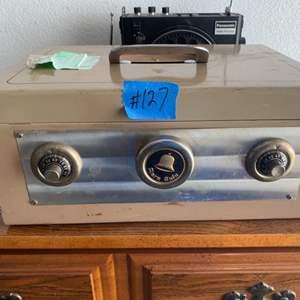 Lot # 109 Vintage Alarm Safe
