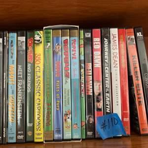 Lot # 110 Small Lot of DVDs