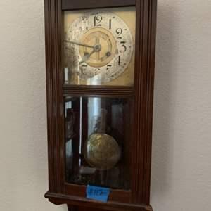 Lot # 112 Wall Clock