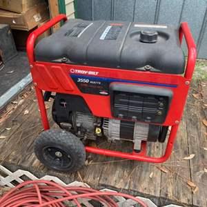 Lot # 130 Troy-Bilt 3550W Generator
