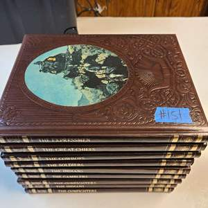 """Lot # 151 Time Life Books """"The Old West"""" Book Collection"""