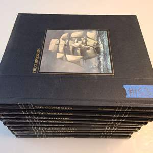 """Lot # 153 Time Life Books """"The Seafarers"""" Book Collection"""
