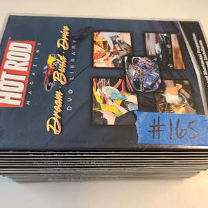 Lot # 165 HotRod DVD Collection