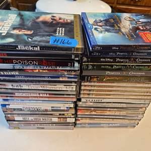 Lot # 166 Large Lot of DVDs