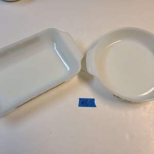 Lot # 168 Lot of 2 Baking Dishes