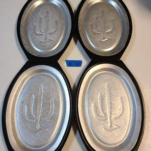 Lot # 170 Set of 4 Hot Plates