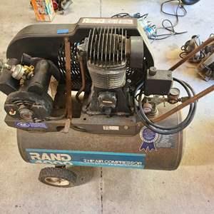 Lot # 181 Rand 4000 2HP Air Compressor
