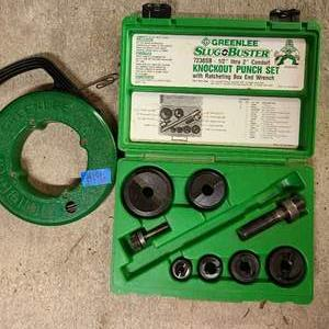 Lot # 186 GreenLee Tools and Wire