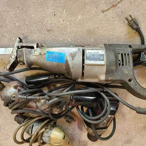 Lot # 190 Lot of Various Electric Tools