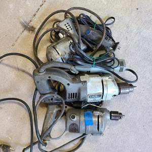Lot # 191 Lot of Various Electric Tools