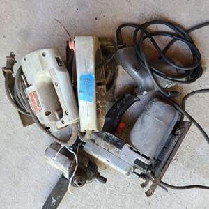 Lot # 195 Lot of Various Power Tools