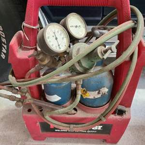 Lot # 215 FirePower Welding & Cutting Outfit W/ Cradle