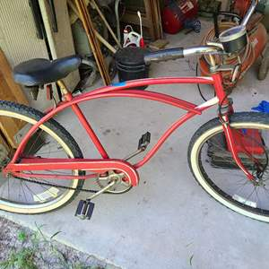 Lot # 223 Retro Huffy Bicycle