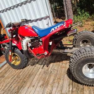 Lot # 224 1986 Honda ATC 250R